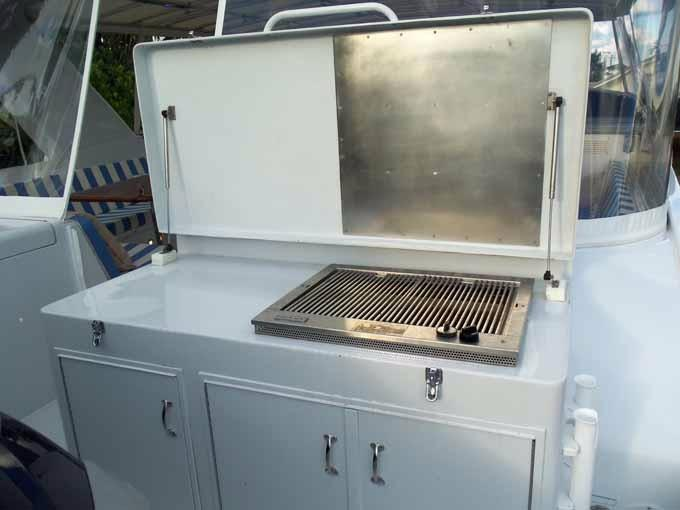 BOAT DECK GAS GRILL
