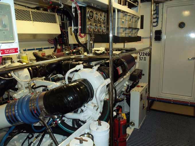 CUSTOM ENGINE ROOM SEALING