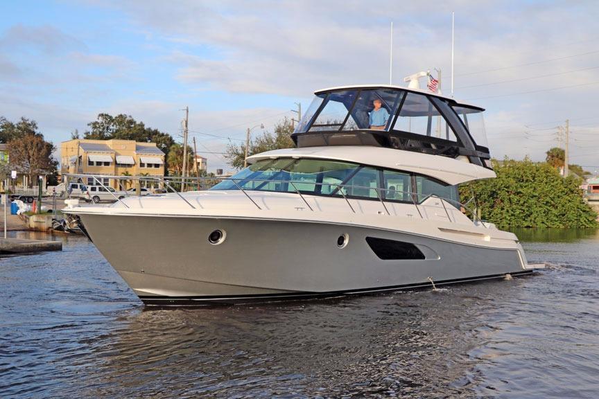 new boats for sale florida ocean blue yacht sales. Black Bedroom Furniture Sets. Home Design Ideas