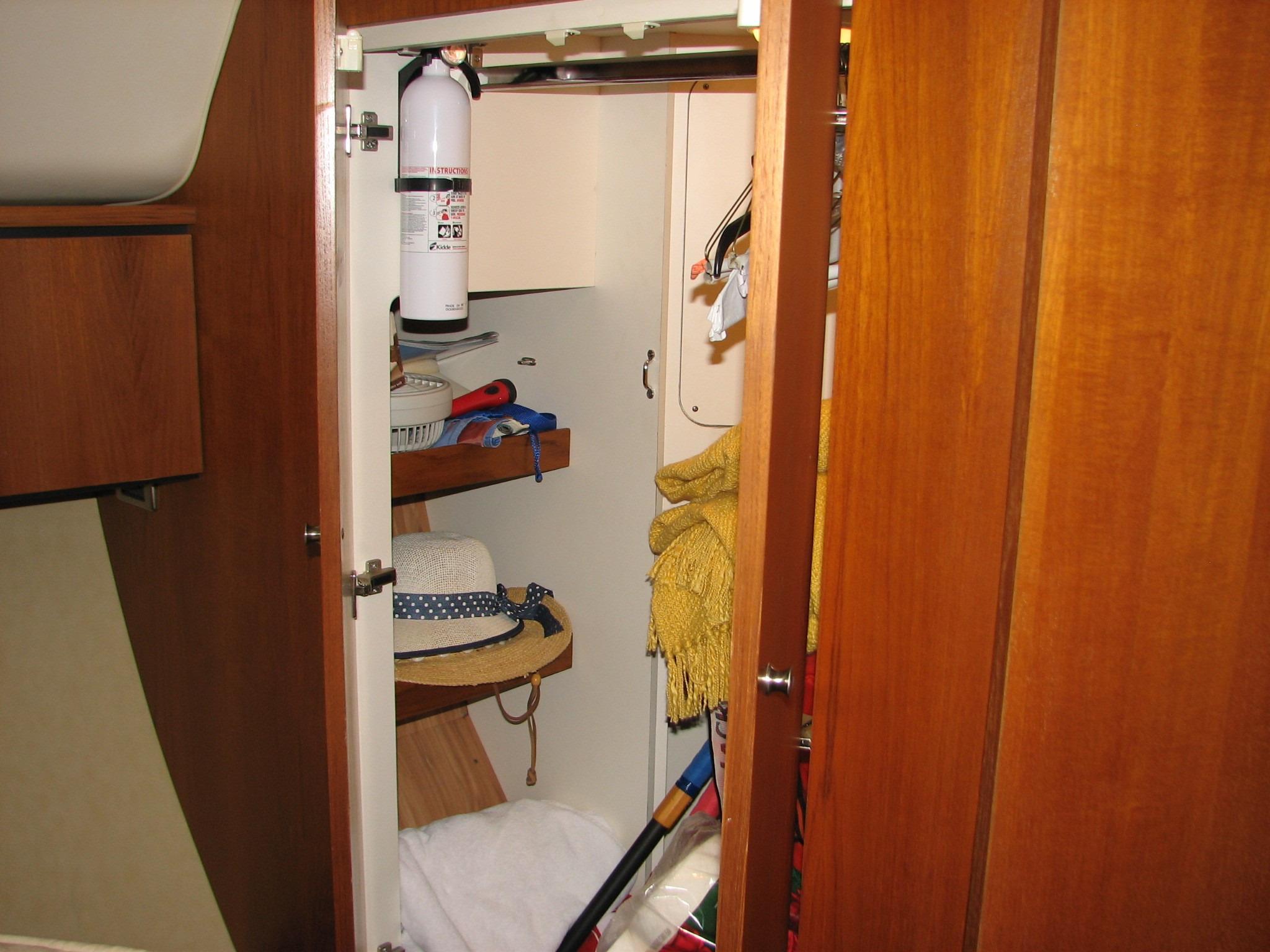 Owner's Stateroom Storage Locker