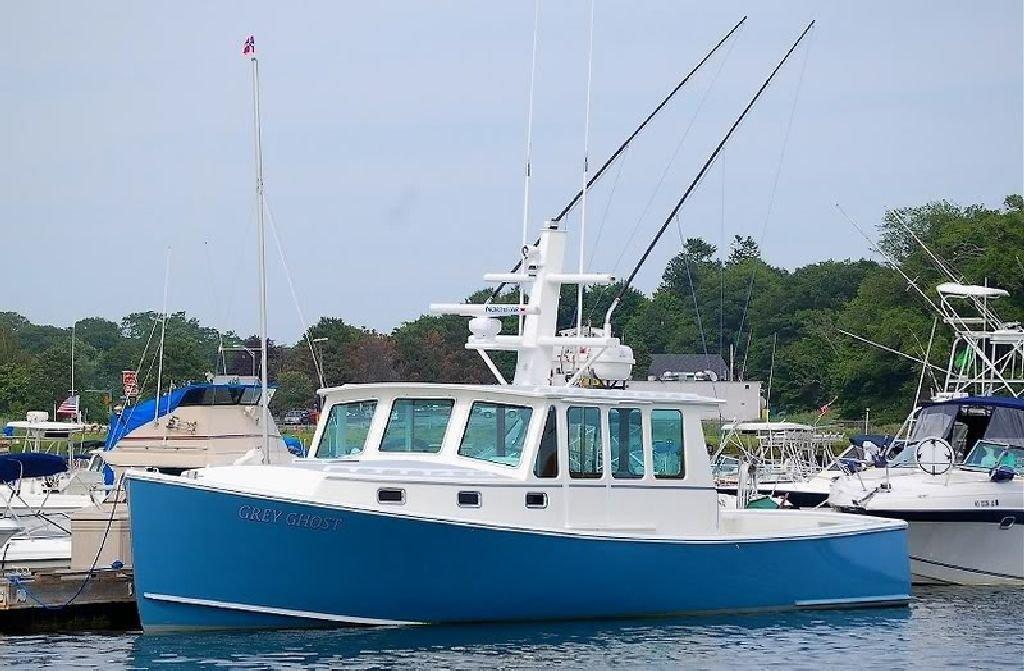 2005 northern bay custom downeast split wheelhouse yacht for Downeast fishing gear