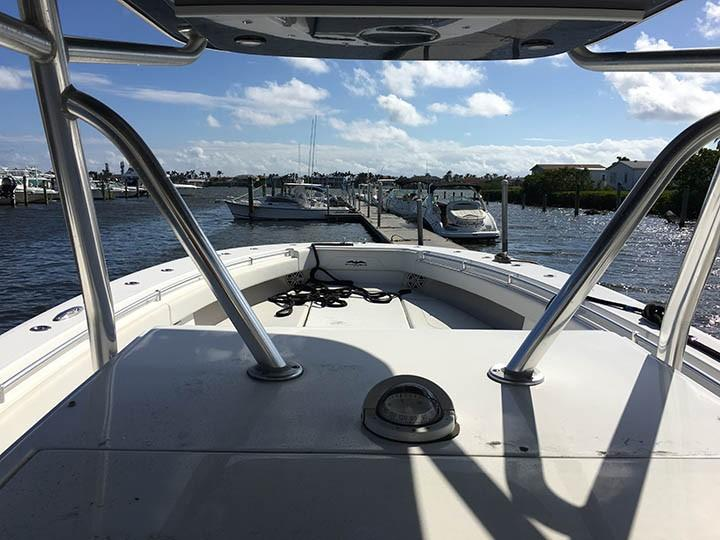 View from helm