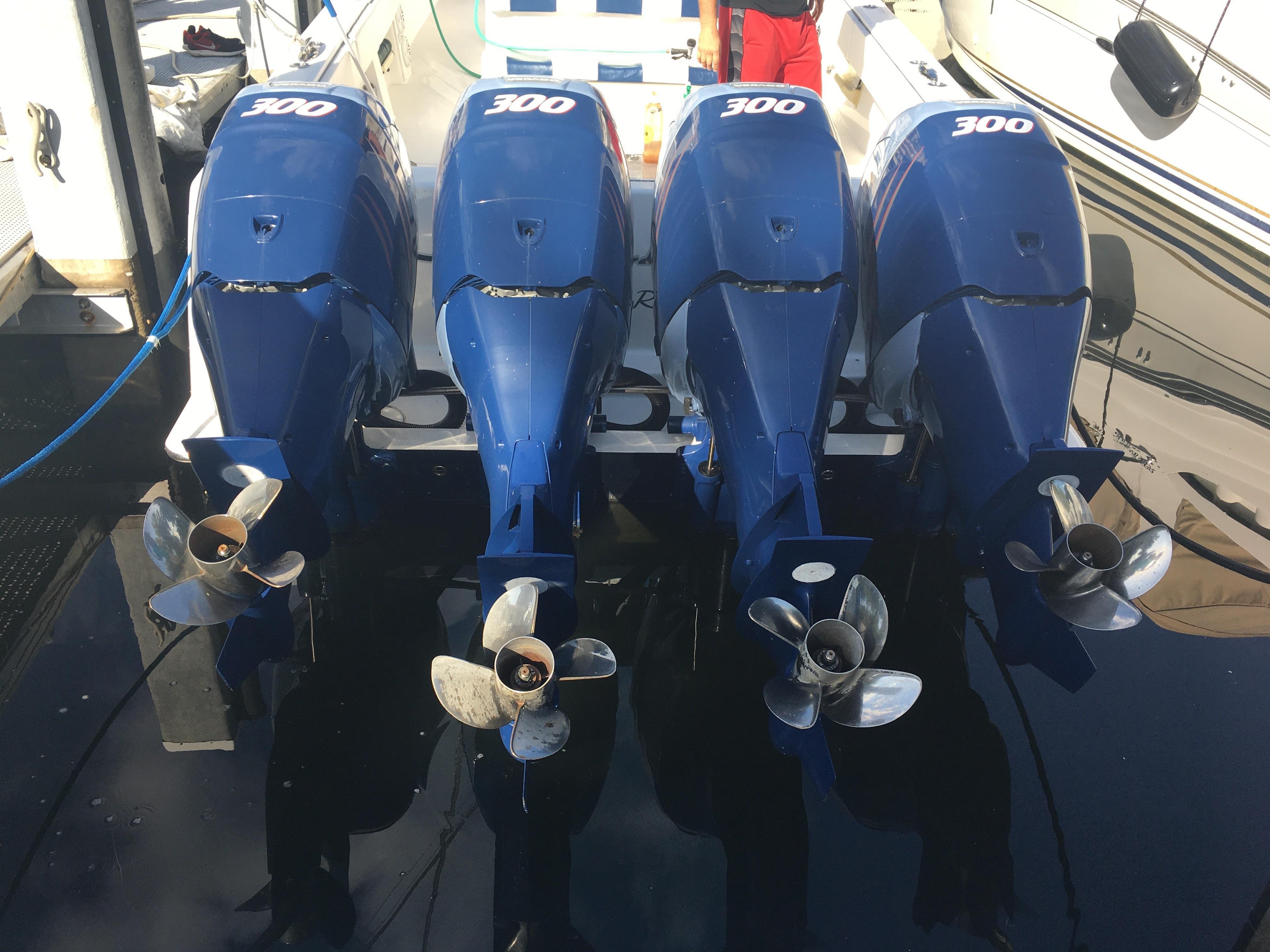 Repainted engines