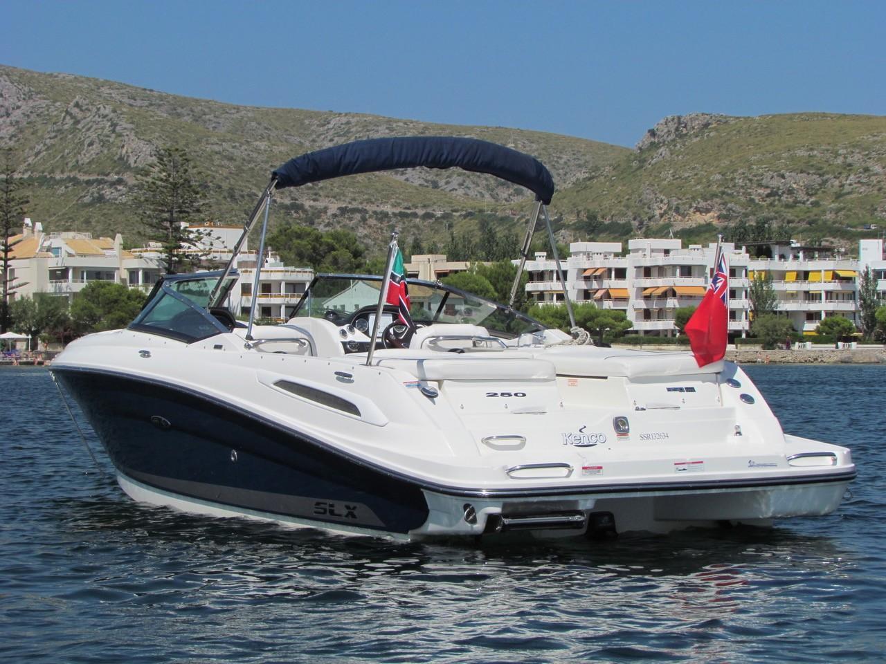 Sea Ray 250 SLX (De ocasión)