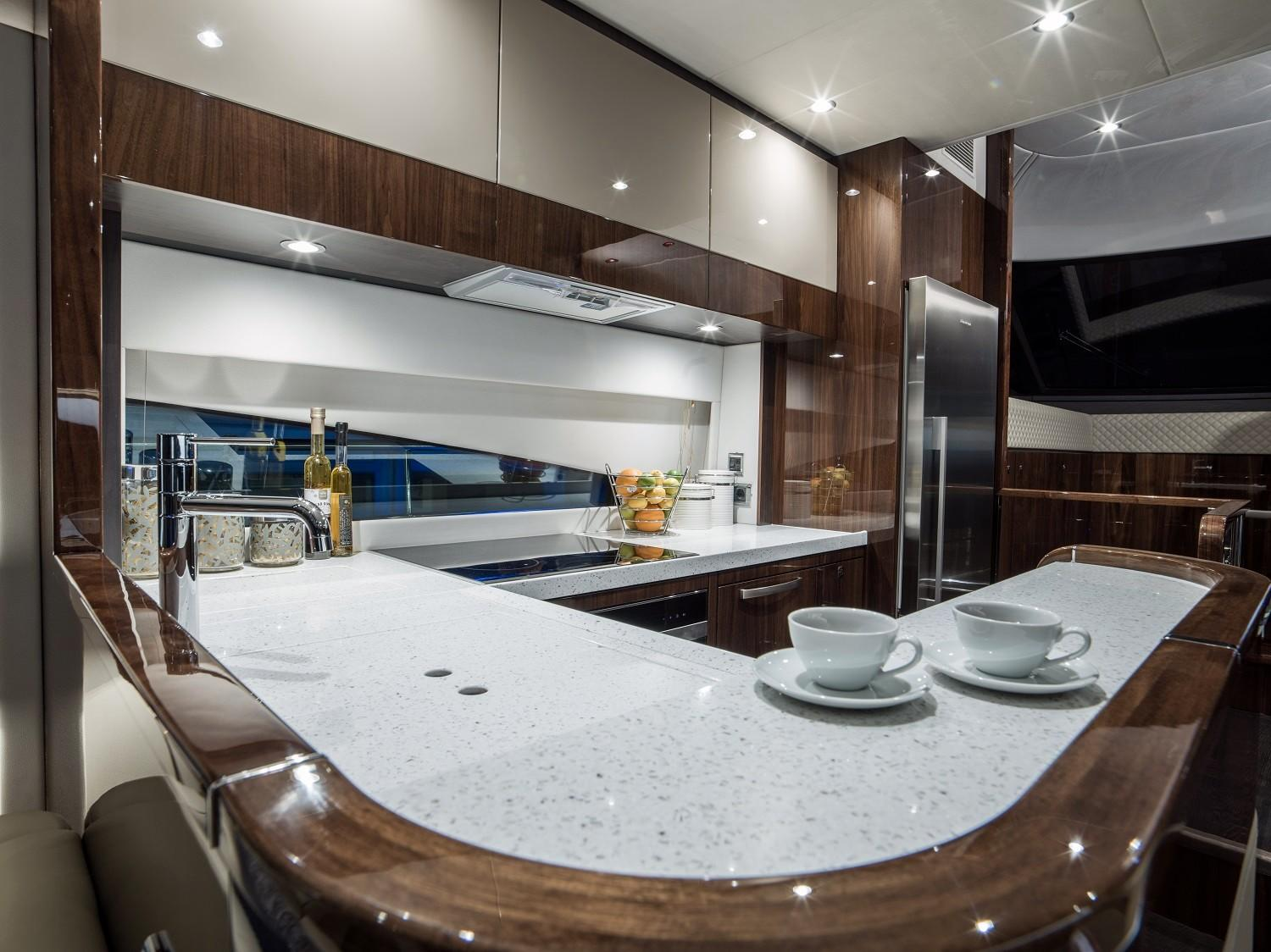 Manufacturer Provided Image: Fairline Squadron 65 Galley