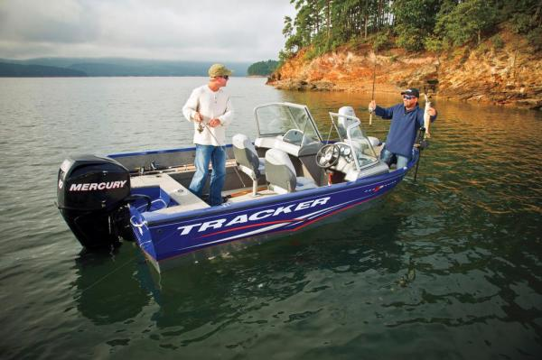 2012 Tracker Boats boat for sale, model of the boat is Pro Guide V-16 SC w/ 50 ELPT FourStroke and Trailer & Image # 4 of 45