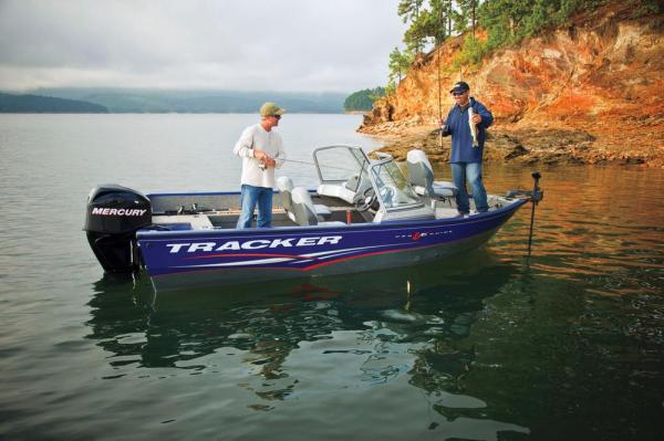 2012 Tracker Boats boat for sale, model of the boat is Pro Guide V-16 SC w/ 50 ELPT FourStroke and Trailer & Image # 3 of 45