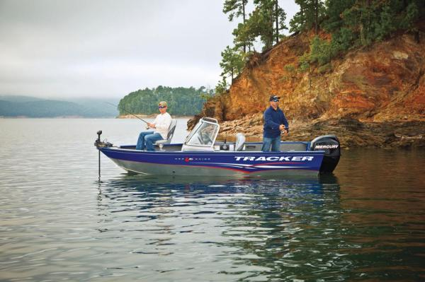 2012 Tracker Boats boat for sale, model of the boat is Pro Guide V-16 SC w/ 50 ELPT FourStroke and Trailer & Image # 2 of 45