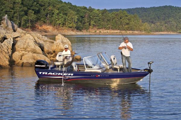 2012 Tracker Boats boat for sale, model of the boat is Pro Guide V-16 SC w/ 50 ELPT FourStroke and Trailer & Image # 8 of 45
