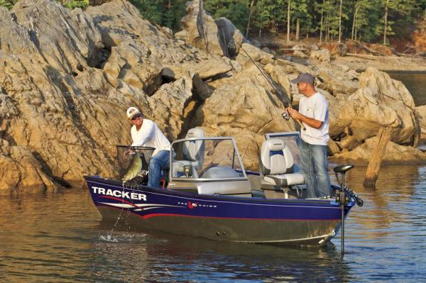 2012 Tracker Boats boat for sale, model of the boat is Pro Guide V-16 SC w/ 50 ELPT FourStroke and Trailer & Image # 9 of 45