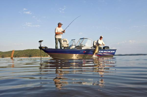 2012 Tracker Boats boat for sale, model of the boat is Pro Guide V-16 SC w/ 50 ELPT FourStroke and Trailer & Image # 11 of 45