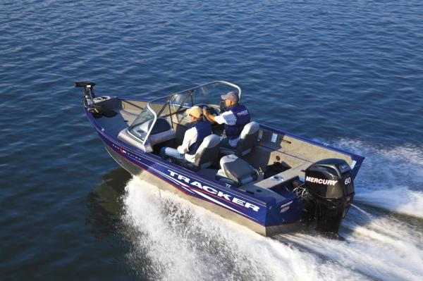 2012 Tracker Boats boat for sale, model of the boat is Pro Guide V-16 SC w/ 50 ELPT FourStroke and Trailer & Image # 15 of 45