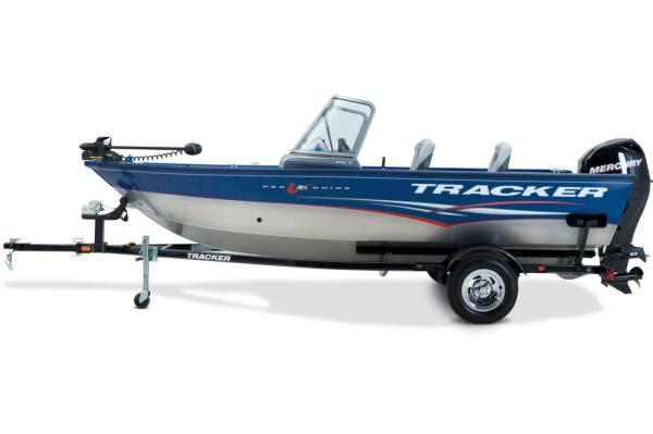 2012 Tracker Boats boat for sale, model of the boat is Pro Guide V-16 SC w/ 50 ELPT FourStroke and Trailer & Image # 19 of 45