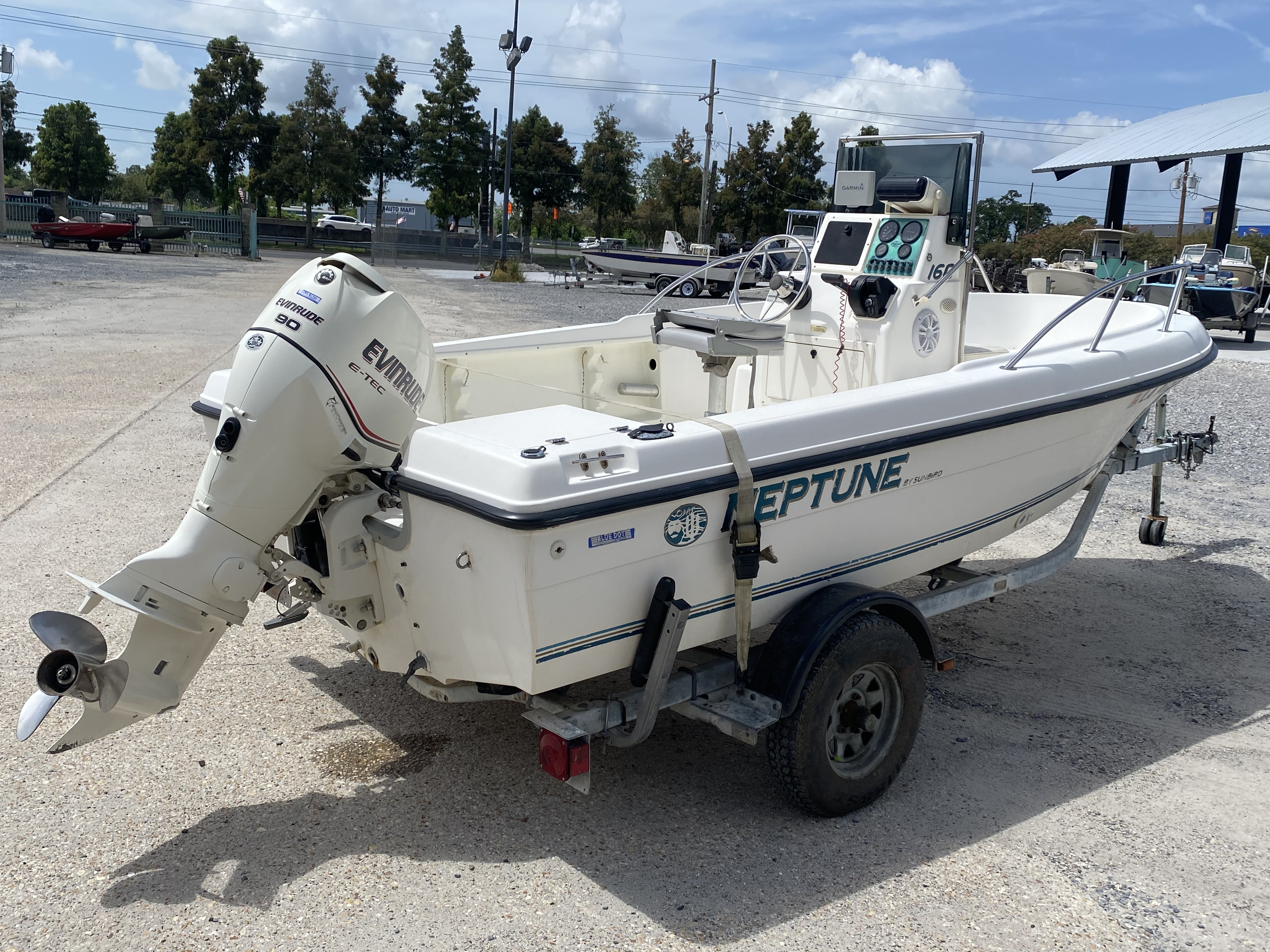 1996 Sunbird boat for sale, model of the boat is Neptune 160 & Image # 11 of 14