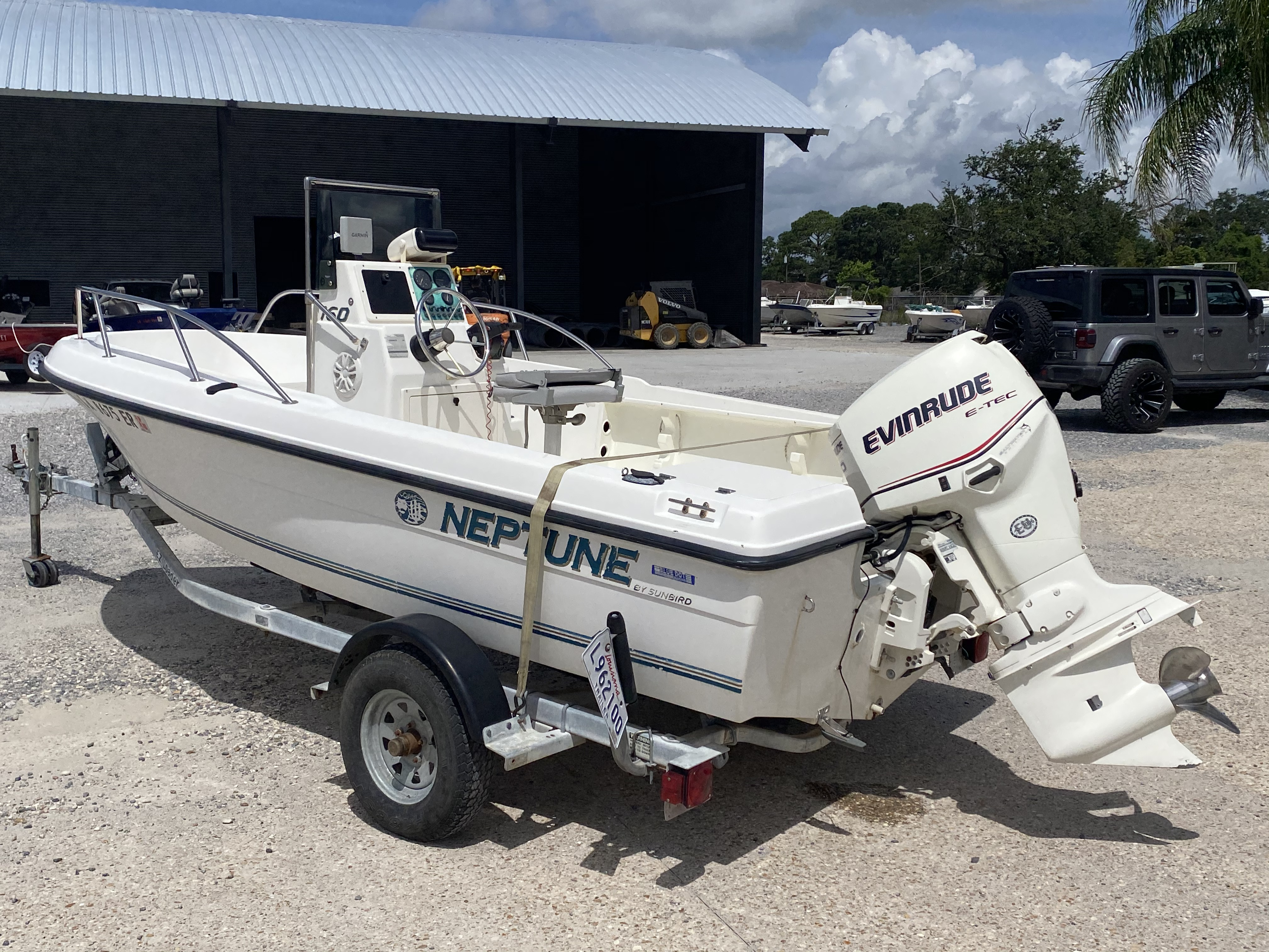 1996 Sunbird boat for sale, model of the boat is Neptune 160 & Image # 3 of 14