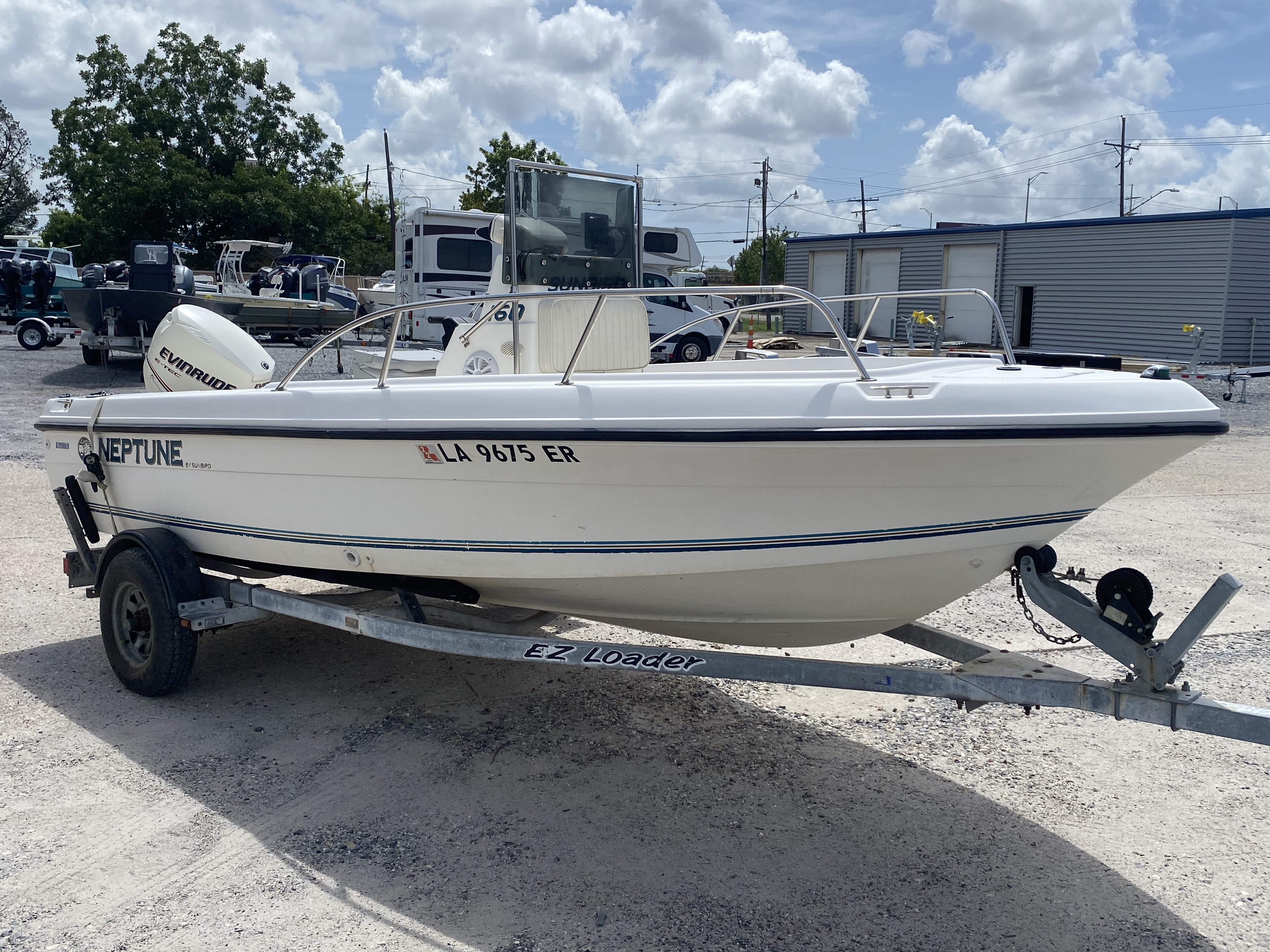 1996 Sunbird boat for sale, model of the boat is Neptune 160 & Image # 7 of 14