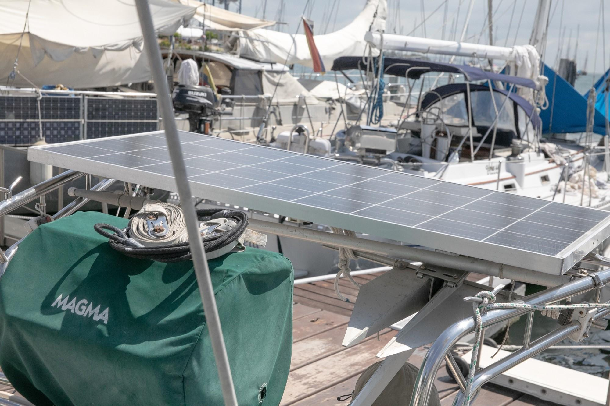 1 of 3 solar panels