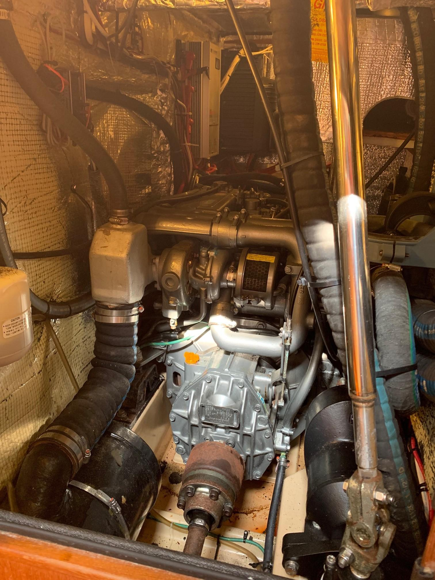 engine aft view