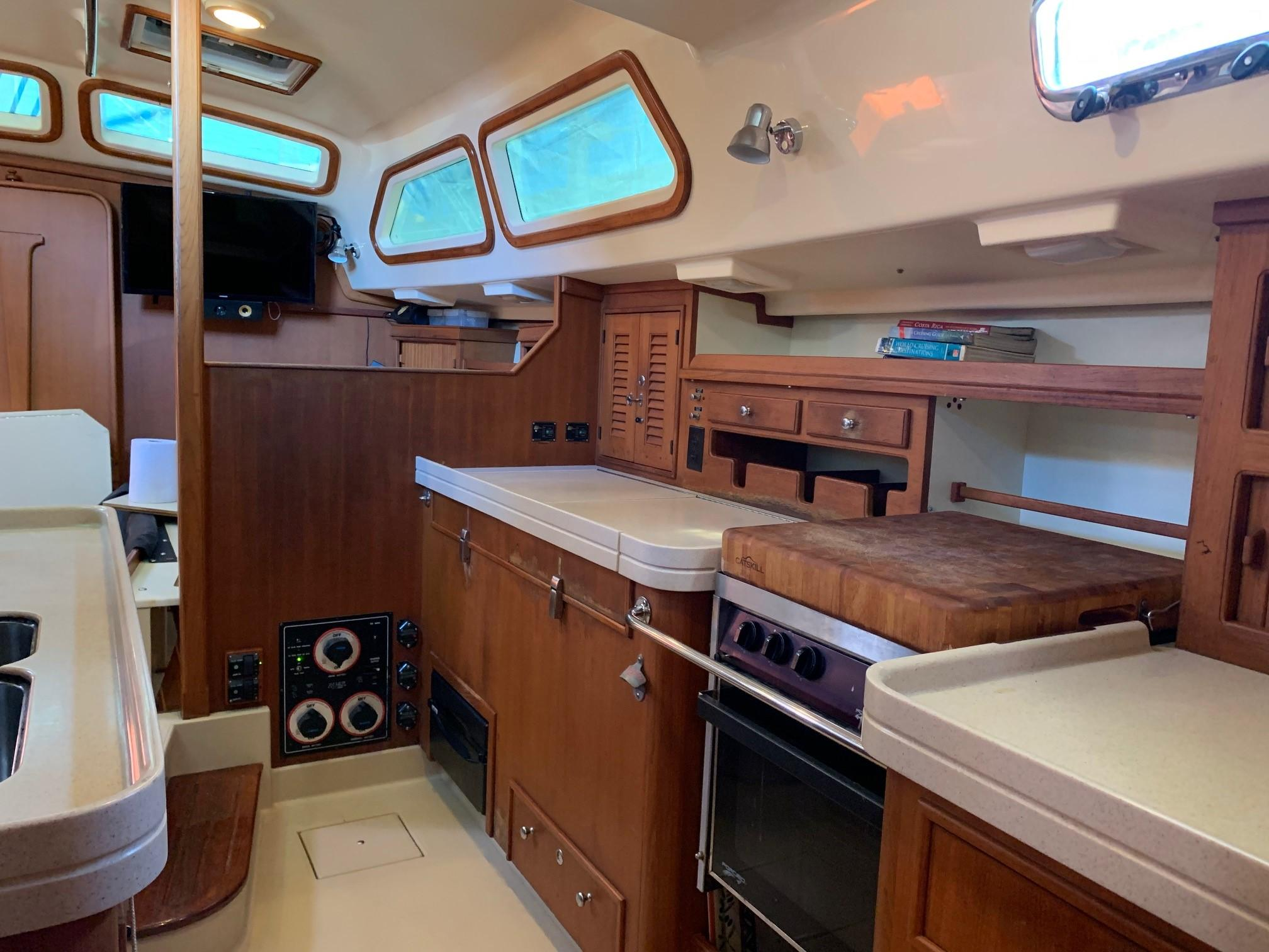 galley stbd side looking fwd