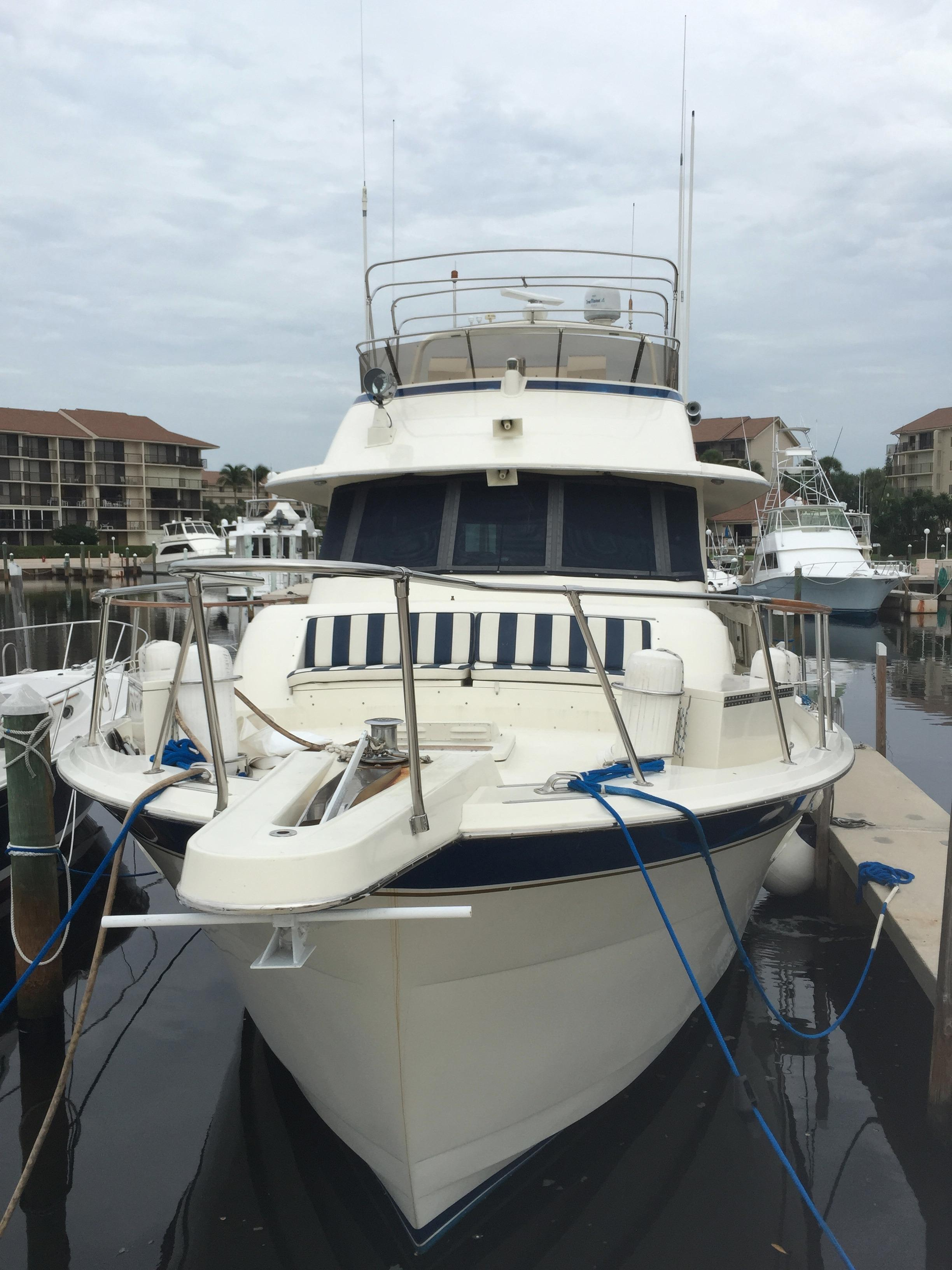 58 hatteras 1987 shangri la palm beach denison yacht sales for Palm beach motor yachts for sale