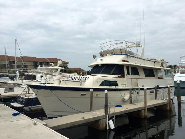 Used 1987 58 Ft Hatteras 58 Wide Body Motor Yacht Hmy