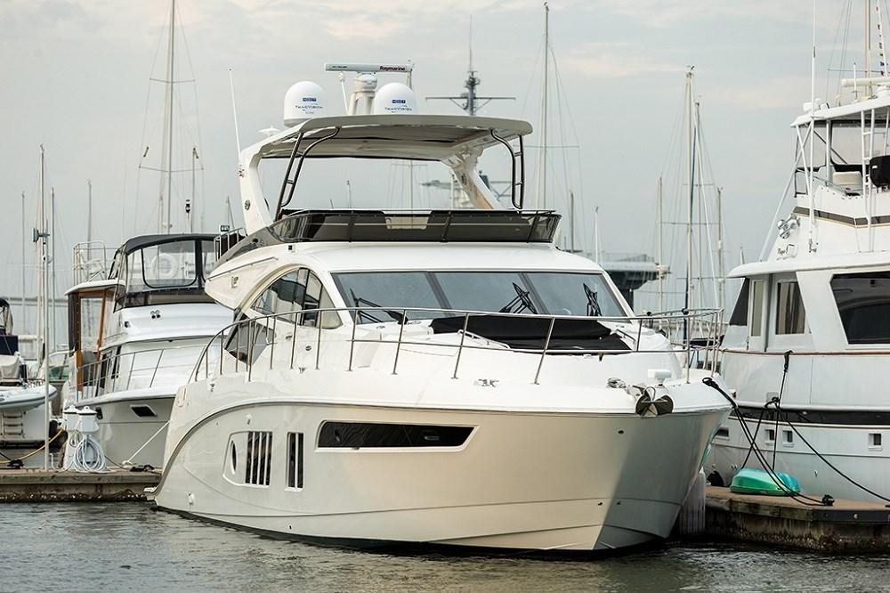 65 ft Sea Ray L650 Fly