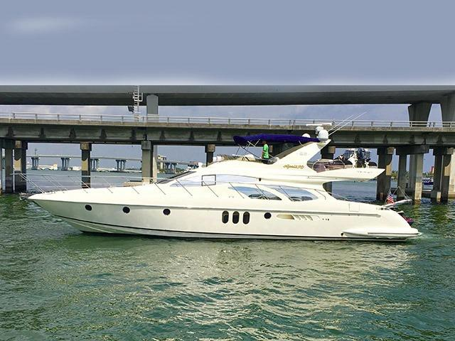 2007 Azimut 62 FLY BRIDGE
