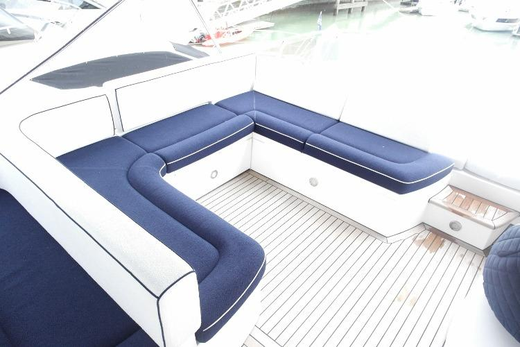 Opposite Fly helm seating area