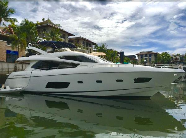 Sunseeker Manhattan 73 - Profile