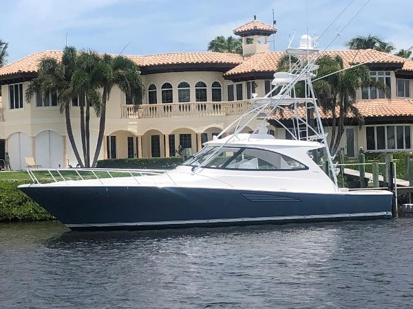 2018 48' Viking 48 Sport Coupe with Palm Beach Tower