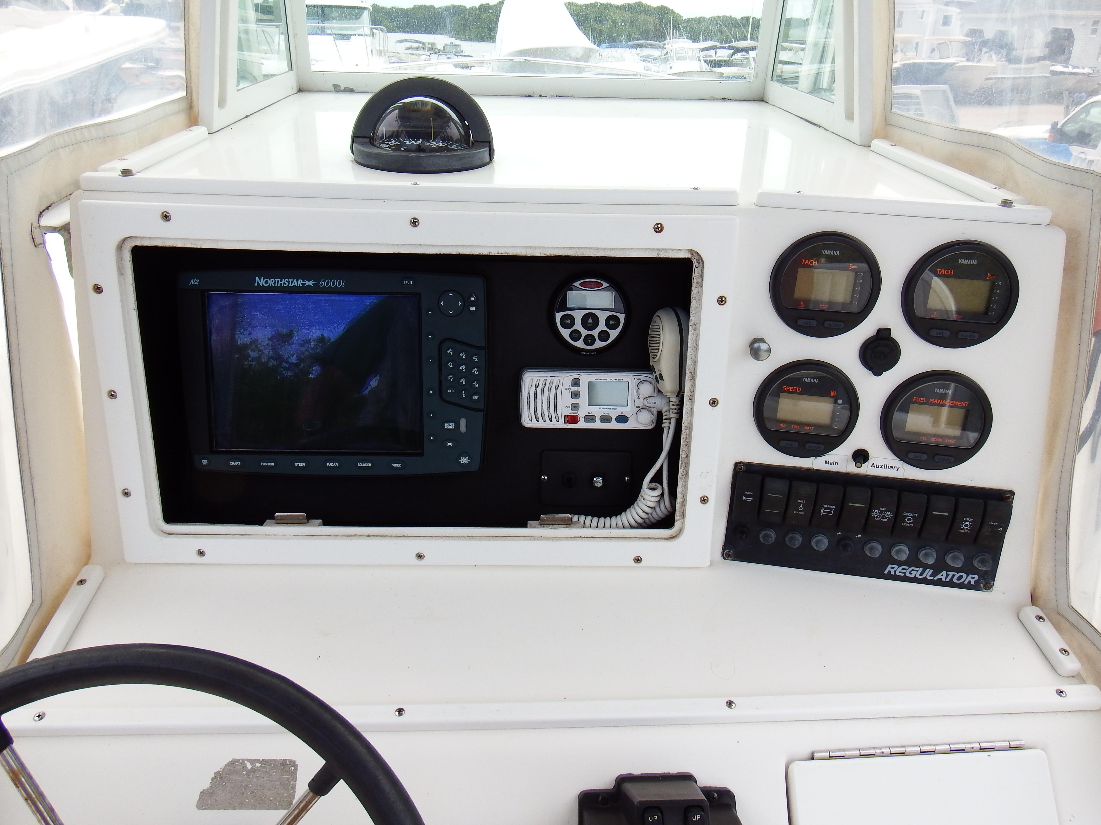 Maycraft Boat Gauges Wiring Diagram Electrical Diagrams Console Used Inventory Ocean House Marina
