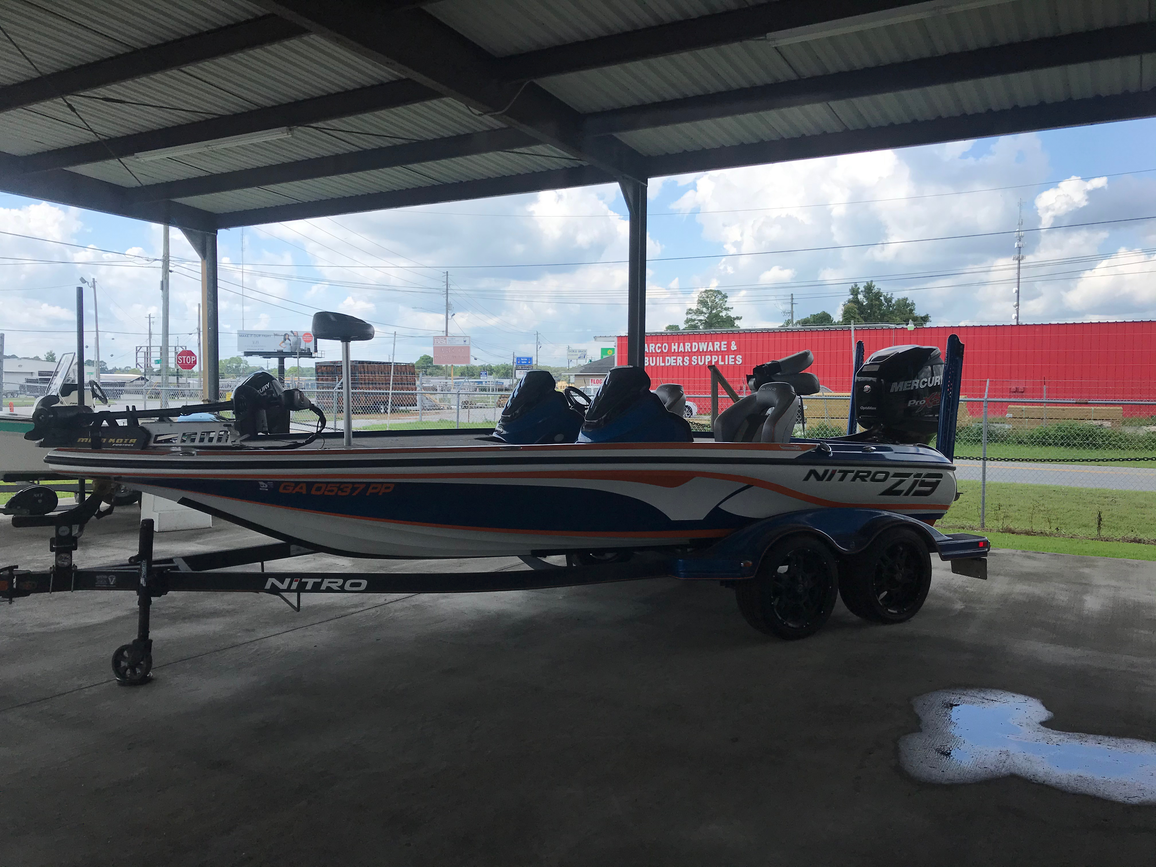 2018 Nitro boat for sale, model of the boat is Z19 & Image # 1 of 2