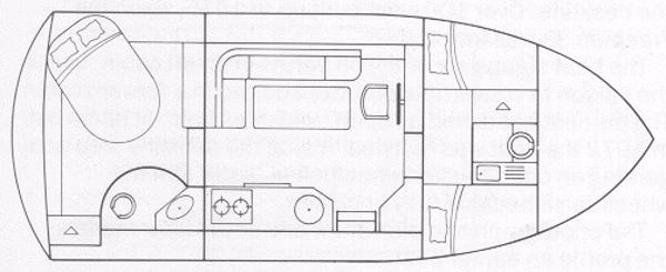 Corvette 320 - Layout Diagram