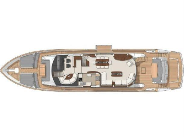 2016 Sunseeker 28 Metre  - Layout