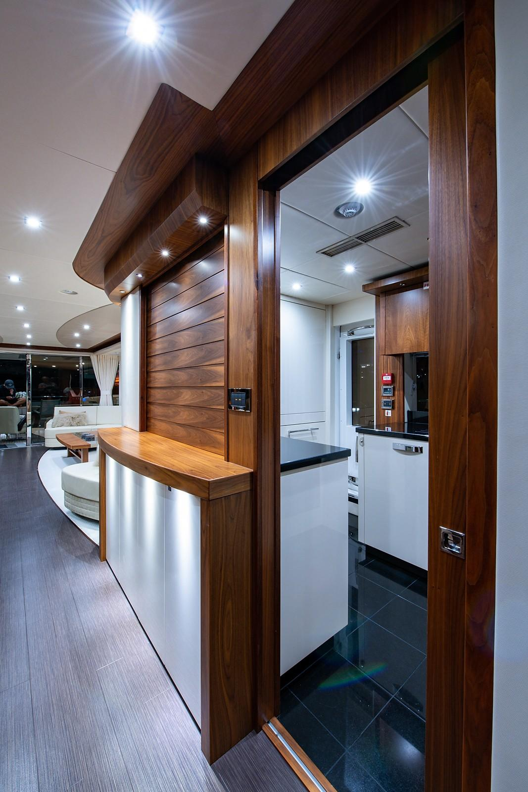 2016 Sunseeker 28 Metre - Galley