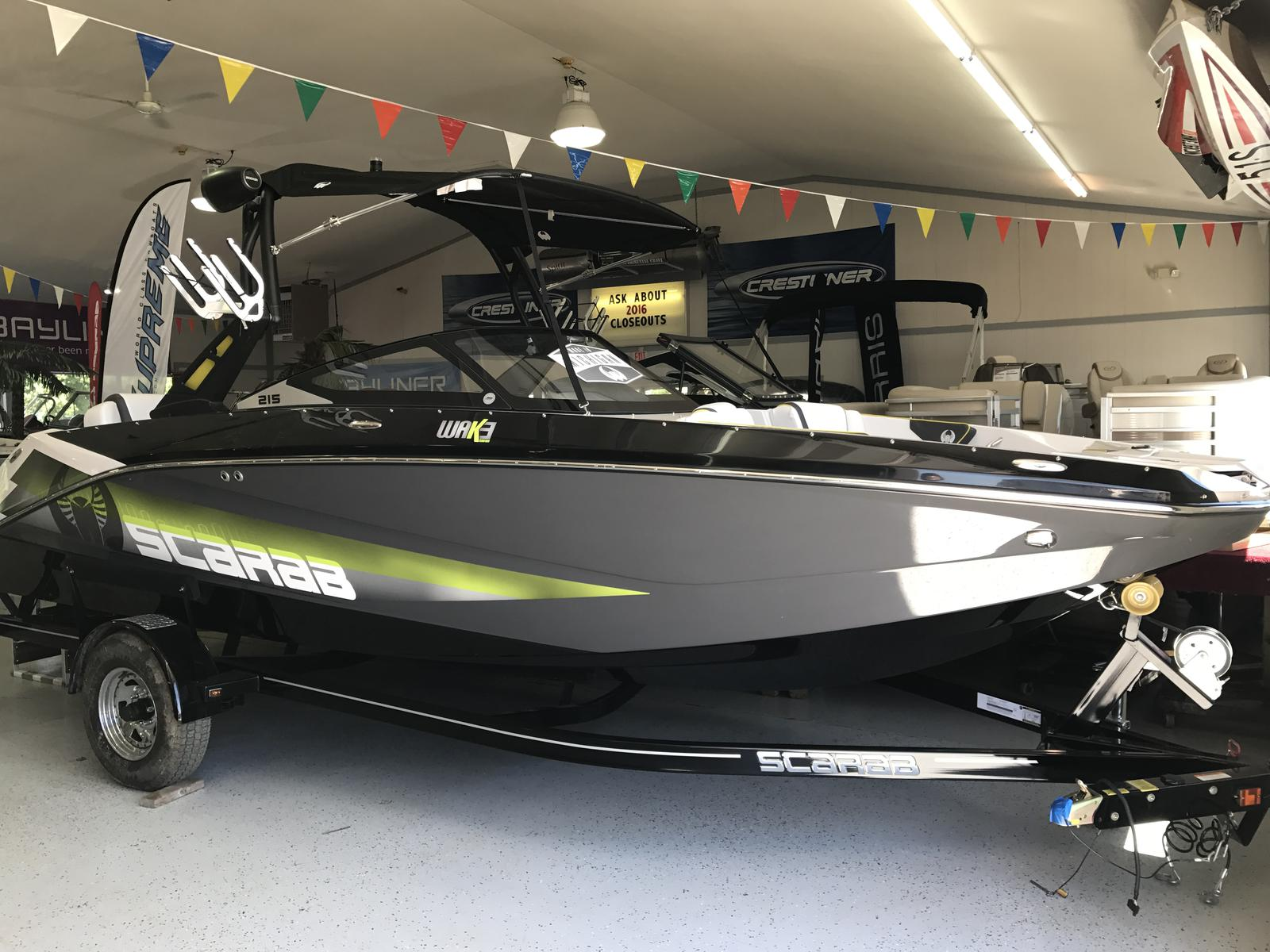 2016 Scarab 215;HO Impulse