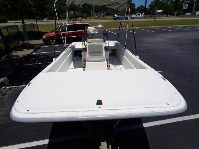 Clearwater 19 Skiff - Front bow