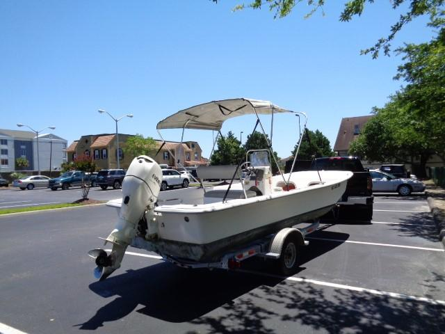 Clearwater 19 Skiff - starboard aft