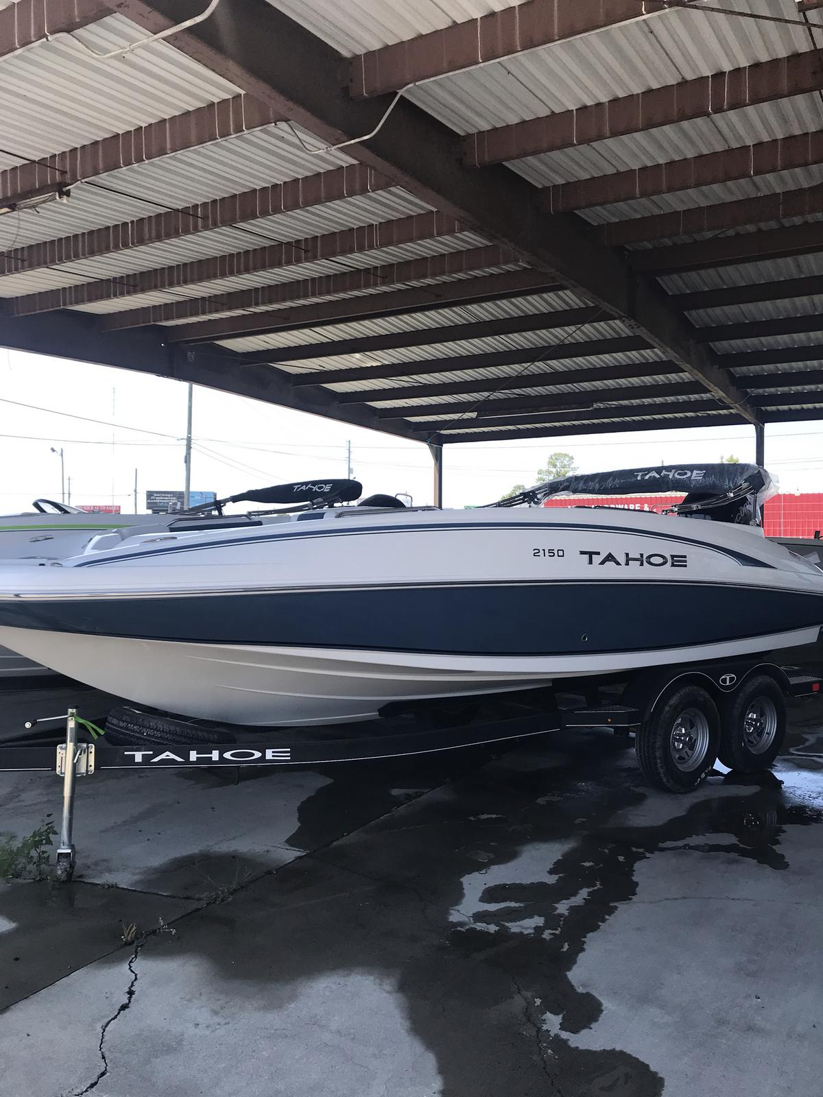 2019 Tahoe boat for sale, model of the boat is 2150 & Image # 1 of 21