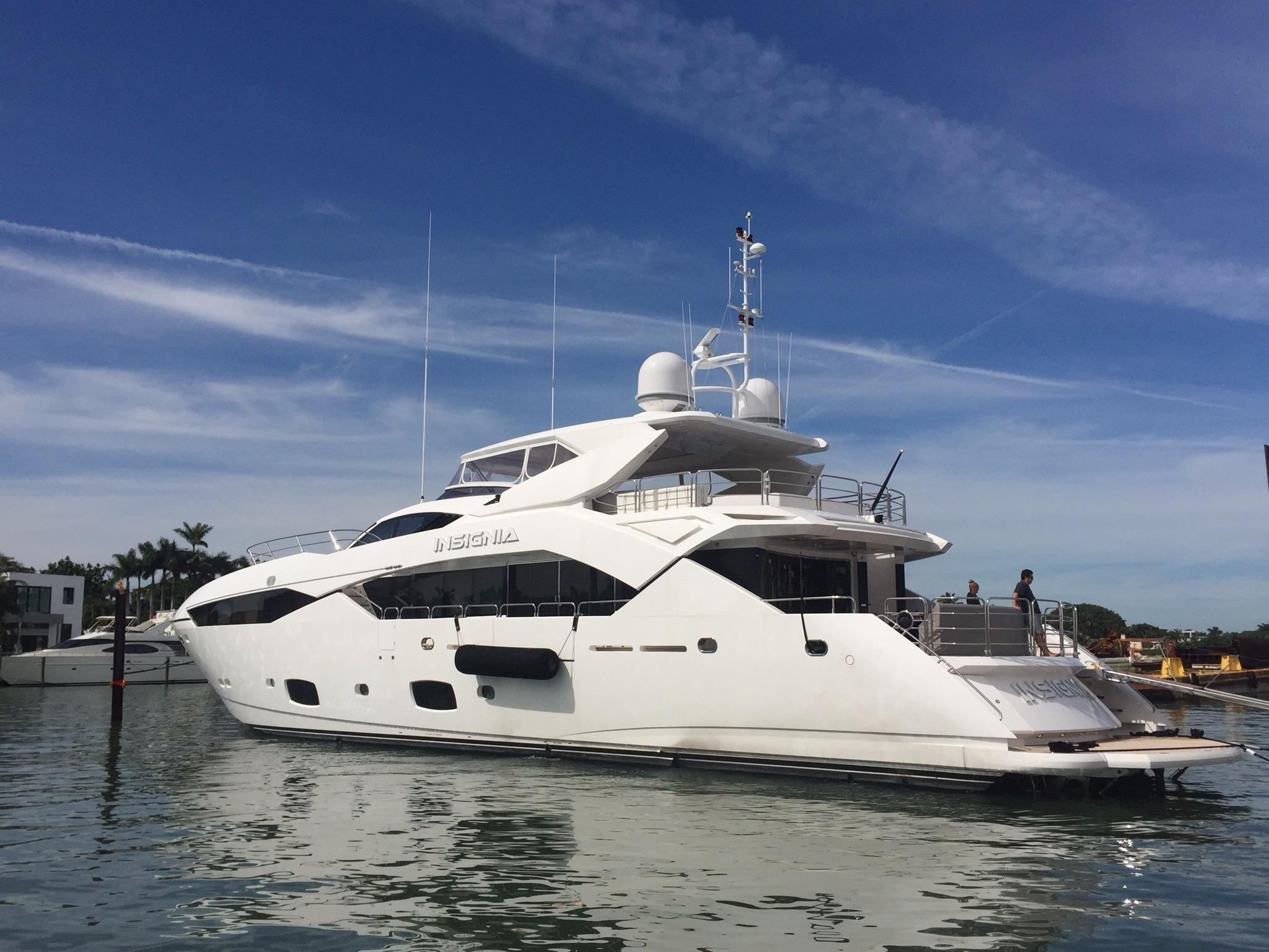 115 sunseeker 2015 for sale in fort lauderdale  florida