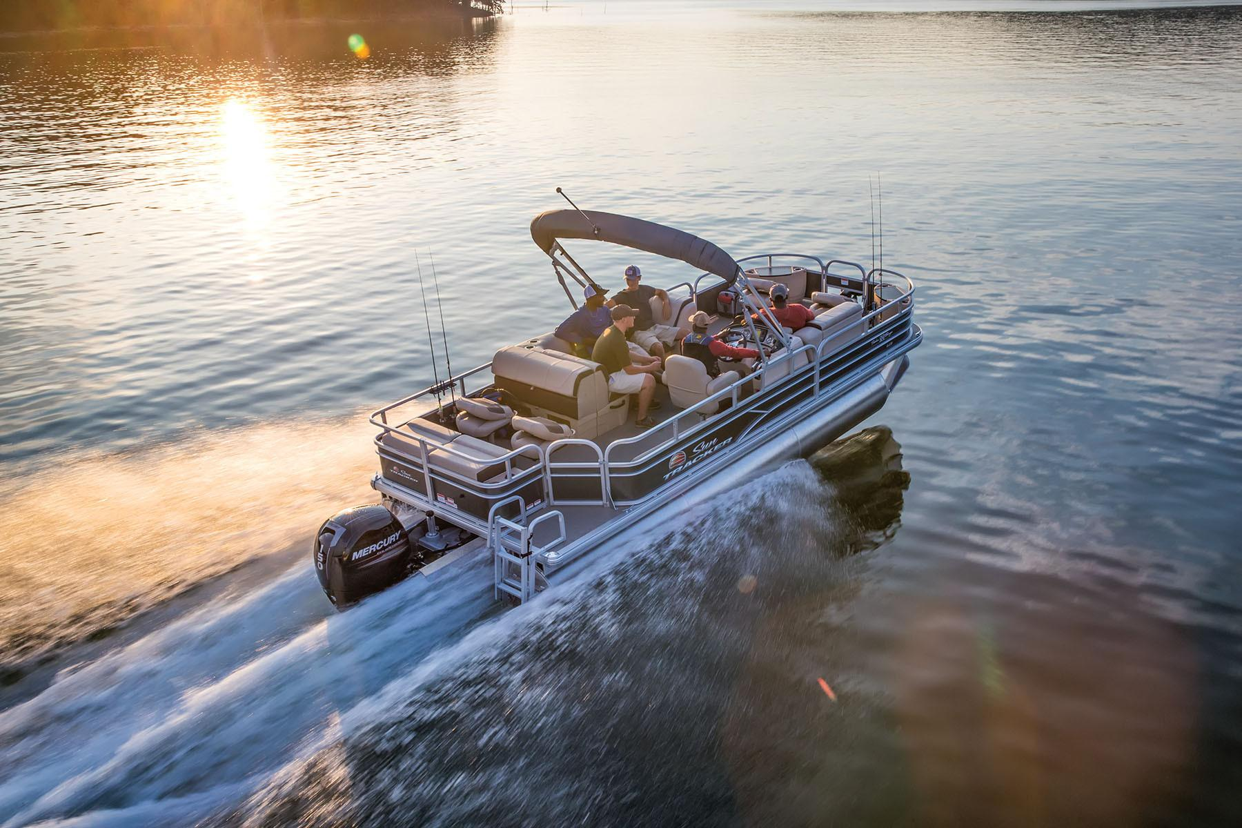 2018 Sun Tracker Fishin\u0027 Barge 22 XP3boat for sale