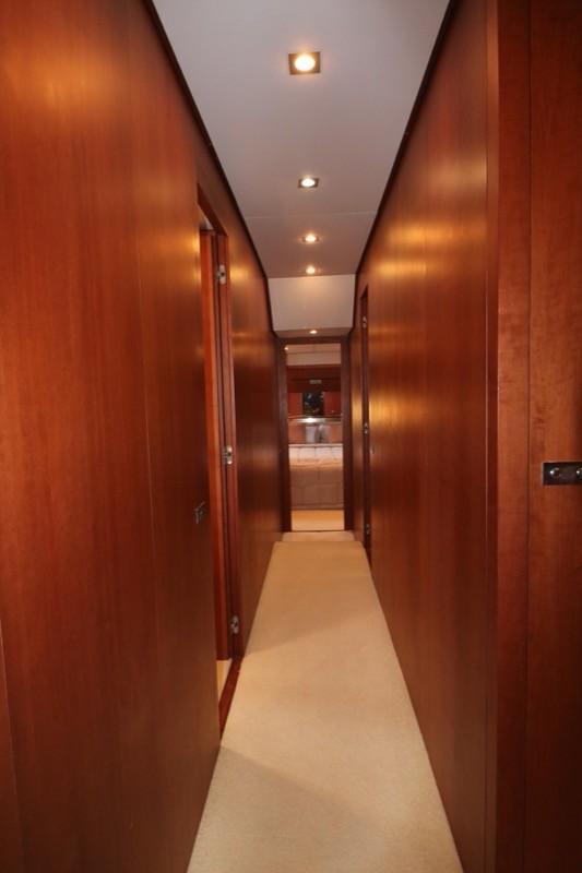 Lower deck corridor