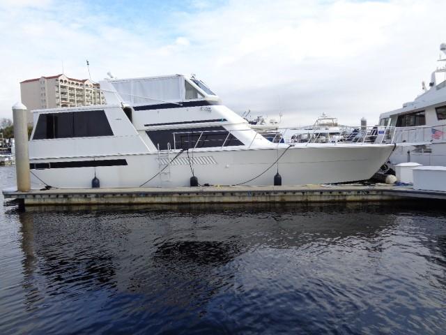 Viking 54 Motor Yacht - Starboard View