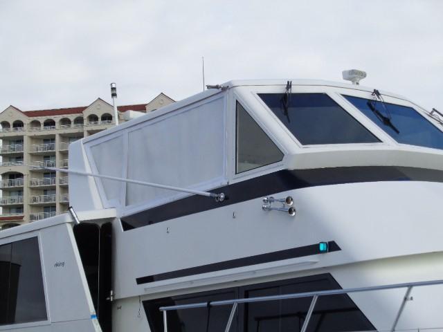 Viking Motor Yacht - Starboard View