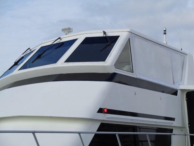 Viking 54 Motor Yacht - Port View