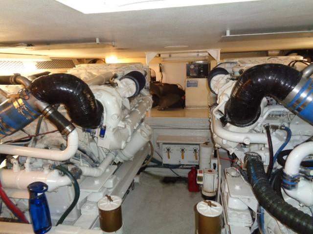 Viking Motor Yacht - Engine Room