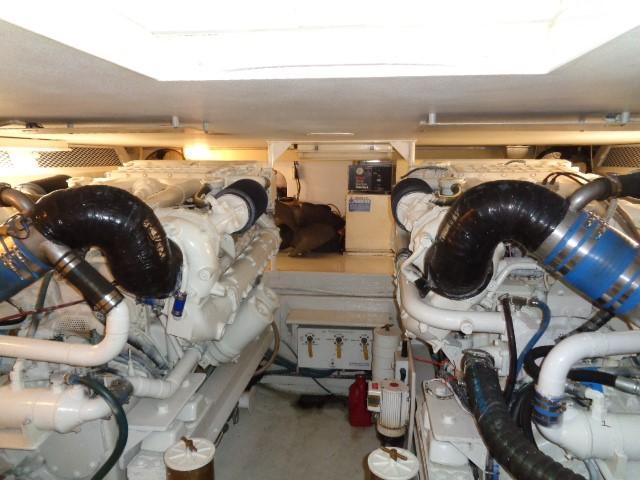 Viking 54 Motor Yacht - Engine Room