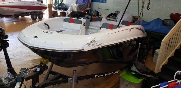 2020 Tahoe boat for sale, model of the boat is T16 & Image # 107 of 110