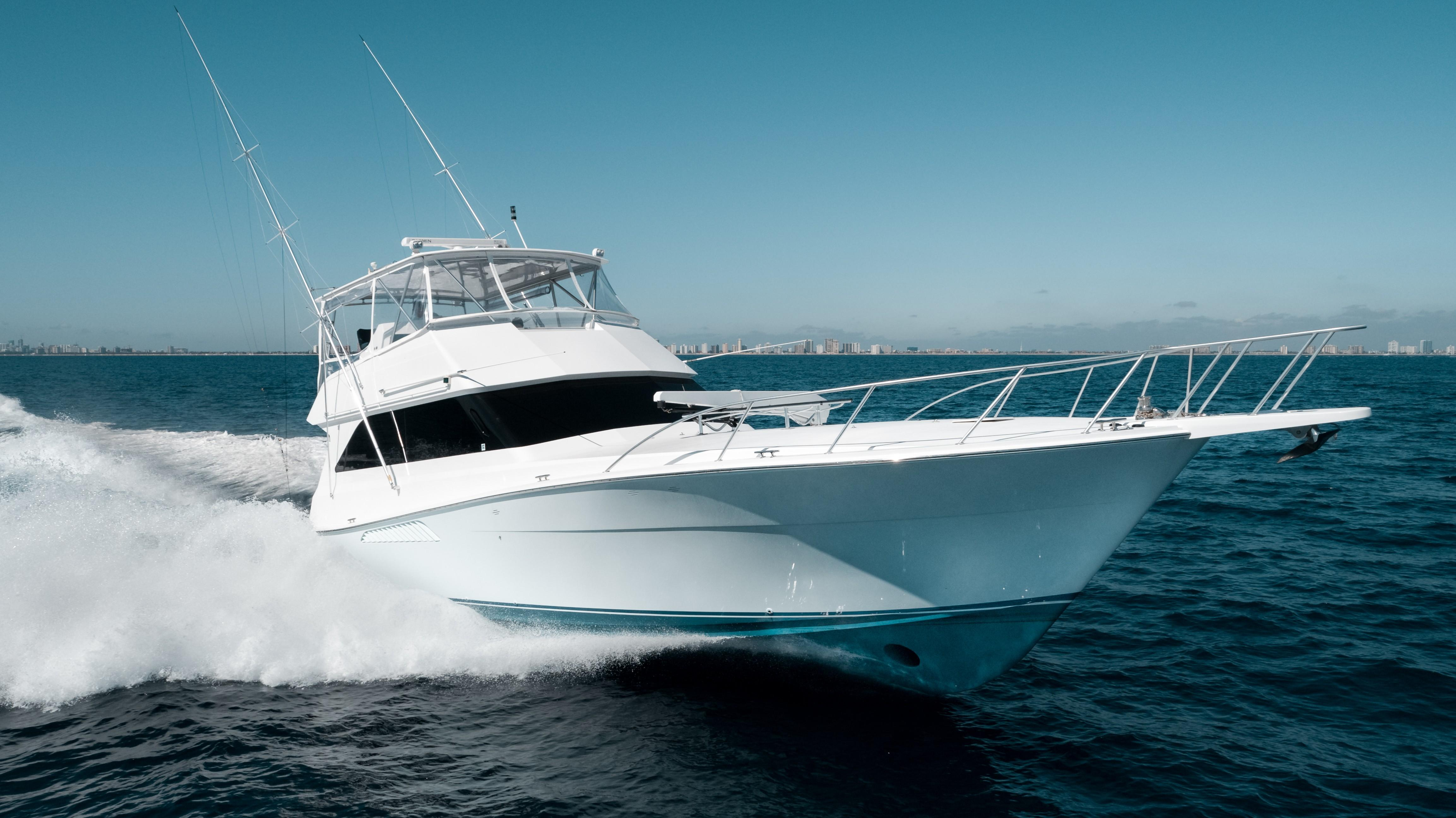 58 Viking Knotty Girl 2000 Fort Lauderdale | Denison Yacht Sales