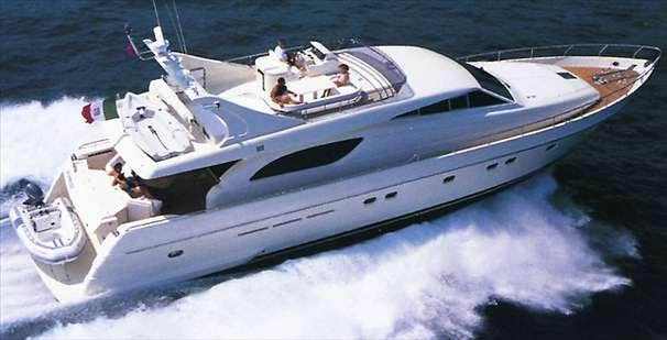 Ferretti 72. Length: 72.25 feet. Model Year: 1998. Price: €700000